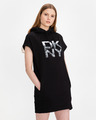 DKNY Stacked City Logo Sukienka