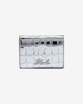 Karl Lagerfeld Signature Croco Mini Portfel
