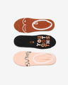 Vans Breast Cancer Awareness 3-pack Skarpetki