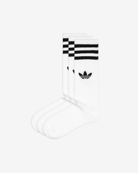 adidas Originals Solid Crew 3-pack Skarpetki